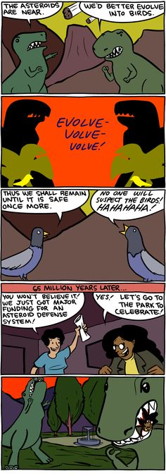 No one will suspect the birds!
