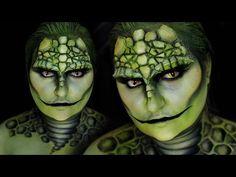 REPTILE | LIZARD Halloween Costume Makeup Tutorial | RawBeautyKristi