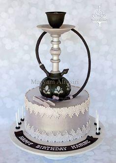 hookah cake  #hookahcake #sheeshacake