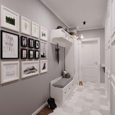 Дизайн-проект квартиры в Оренбурге on Behance Home Entrance Decor, Entryway Decor, Home Decor, Entryway Shoe Storage, Apartment Entrance, Interior Design Living Room, Living Room Designs, Flur Design, Hallway Designs