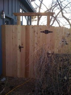 gate entry and fence