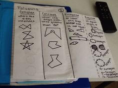 Journal Wizard: Geometry: Polygons and Angles in Regular Polygons,