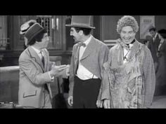 Marx Brothers - Train station sketch (HQ) - YouTube