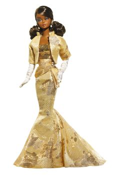 Golden Gala Barbie® Doll | Barbie Collector