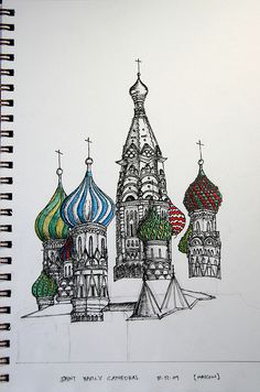 st. basils onion domes | St. Basil's Cathedral | Flickr - Photo Sharing!