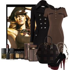 """""""Military Style"""" by ritadolce on Polyvore"""