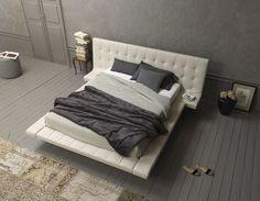 meuble capitonné et tête de lit moderne design