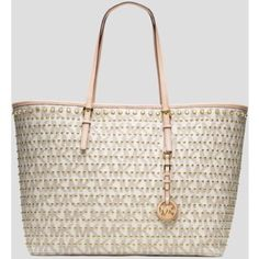 Michael Kors studded travel tote Brand new,  still has tags on it. MICHAEL Michael Kors Bags Shoulder Bags