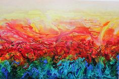 Painted by my mom - so proud Acryl  1.50 x 1.20 m