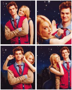 Andrew Garfield and Emma Stone - The Amazing Spider-Man