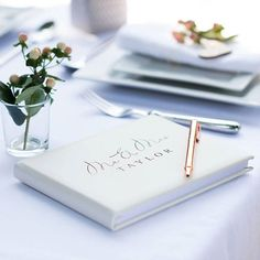 Mr And Mrs Guest Book  Simply irresistible! Bound in thick pale pink or super soft pale ivory genuine leather this superb wedding guest book personalised with your 'new' surname simply oozes quality! Find it at @ohsocherishedltd  #wedding #guestbook #bride #weddinggift #handmade #bridetobe #couplegoals #weddingseason #weddinginspiration #engaged #inlove #weddingguestbook #weddingdecor #letterpresslove #weddinginspo #instawedding #handmadewithlove #gifts #personalisedgifts #stylematters…