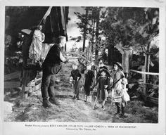 Boris Karloff in The Bride of Frankenstein
