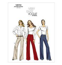 EBAY!!  V8751 | Misses' Pants | New Sewing Patterns | Vogue Patterns