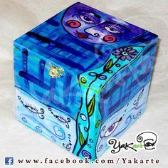 """Caja Mágica Lola """"La Luna y El Mar"""" www.facebook.com/Yakarte"""