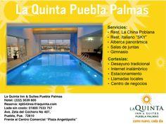Hotel La Quinta Inn&Suites el mejor hotel de la Ciudad de Puebla ubicada en la zona de Angelopolis.