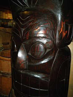 First Nation totem pole, Canada