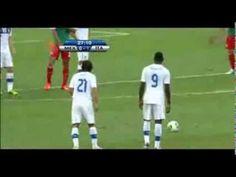 Amazing Andrea Pirlo free kick vs Mexico