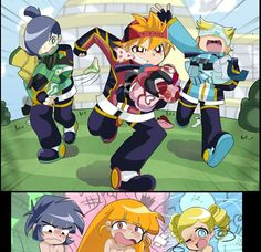 It's based on the Powerpuff Girls and Rowdyruff Boys when they finally are boyfriends and girlfriends. Description from deviantart.com. I searched for this on bing.com/images