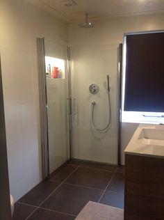 Inklapbare douche deuren