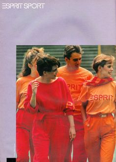 Glossy Sheen: Esprit Ads from the 80's