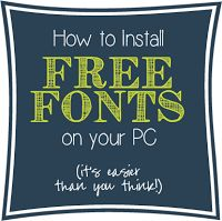Favorite Font Combos: Handwritten Fonts