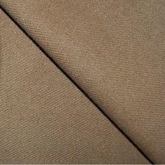 suiting tan wool fabric