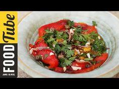 Gennaro's Easy Roasted Pepper Salad