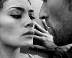 Anticipation..getting that tingly feeling in your stomach when you can smell him close to you and feel his hot breath against your face.