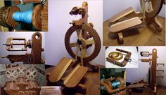 Twelve American Spinning Wheel Manufacturers on The Yarn Marm at http://theyarnmarm.blogspot.com/2012/04/american-made-spinning-wheels.html