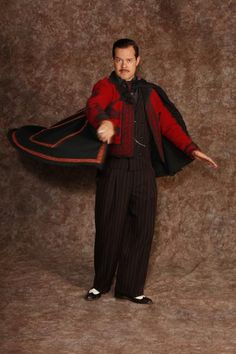 Gomez Tango Jacket and Cape ::: The Addams Family Costume Rental Archive Costumes Nationwide Shipping Hale Center Foundation for the Arts and Education