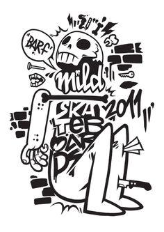 Mild Skateboards 2011 on Behance