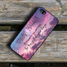 Hakuna Matata No Worries iphone case - Accessories