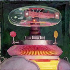 Galleries - Eric Joyner Robots and Donuts Artist
