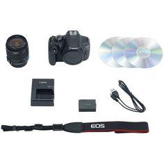Canon 9126B003 18.0MP Digital Camera EOS Rebel T5 EF-S 18-55mm IS II Black