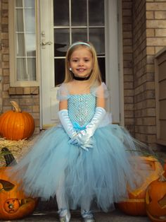 ORIGINAL Cinderella Tutu Dress on Etsy Costume by AmericanBlossoms,
