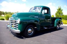 1953 chevy truck for sale | 1953 Chevrolet 1/2 Ton 3 Window Pickup For Sale