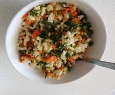 Recipe Cauliflower Tabbouleh by KMJansen - Recipe of category Side dishes