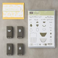 Fruit Basket Photopolymer Bundle by Stampin' Up!