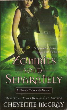 Zombies Sold Separately by Cheyenne McCray is the fourth urban fantasy book in the Night Tracker series and sees New York under attack by zombies. #CheyenneMcCray #Zombies
