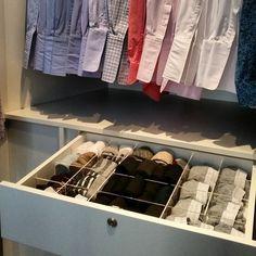 Organização de closet masculinos!!