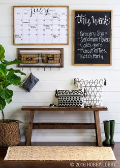 Organize Your Life with Classic Wood Panels