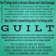 Chronic pain is not your fault