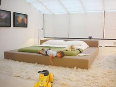 An ideal bed for an active sleeper.  Best if you have the space for such a large piece of furniture.