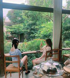 Nayeon, Outdoor Furniture, Outdoor Decor, Ulzzang, Around The Worlds, Jung Yoon, Home Decor, Random Stuff, Korea