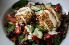 Baked Falafel by Monica Shaw
