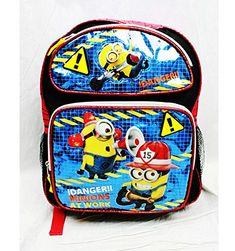 Medium Backpack - Despicable Me - Danger Minions School Bag New dl20937 -  Walmart.com ca284d08e7338