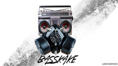 Basskake logo Graphics, Logo, Digital, Logos, Graphic Design, Environmental Print