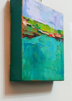 Por la costapintura al óleo Original sobre lienzo 6 x por ChanceLee