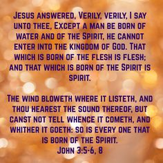 What it Means to be Born Again and Filled with the Holy Spirit