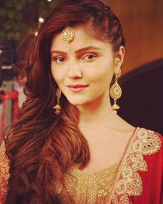Rubina Dilaik (Tv Actress) Height Weight Age Biography Wiki Body Measurements Family Affairs and Indian Tv Actress, Indian Actresses, Twist Hairstyles, Indian Hairstyles, Indian Celebrities, Beautiful Celebrities, Tv Girls, Bollywood Girls, Teen Actresses